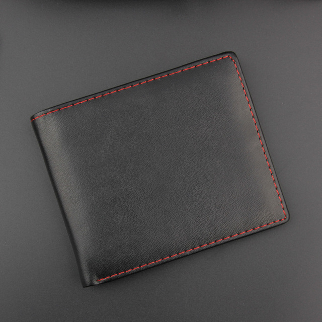 37d9204987cd Casual Men Wallets Bifold Wallet ID Card Holder Coin Purse Pockets Clutch  with Ultra-thin Coin Bag Men Wallet with for male Gift
