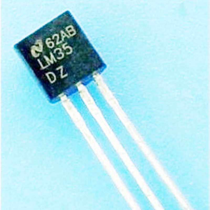 Lm35dz Lm35 To 92 Nsc Temperature Sensor Icin Integrated Circuits