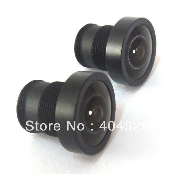 2pcs 2.1mm 150 Degree Wide Angle CCTV Lens Camera IR Board for both 1/3 and 1/4 CCD cam