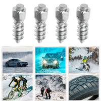 100Pcs Set Universal Car Tire Studs Screw 12mm Auto Care Snow Tyre Spikes Driving Safety Snow