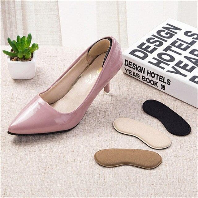 HB@1Pair Shoe Cushion High Heel Foam Gel Heel Cushion Foot Care Shoe Insert Pad Insole Shoe Cushion dropship
