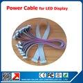 Один лот десять штук из светодиодов для передачи данных 16 P короткий кабель для из светодиодов модули помещении на открытом воздухе 10 см для из светодиодов панели