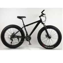Mountain Bike bicycle 24speed Aluminum alloy frame 26×4.0 fat bike bicycle Snow bike Front and Rear Mechanical Disc Brade Male