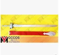 Sword Art Online Asuna Yuuki Kılıç + Kın Lambent işık Rapier silah Cosplay Prop