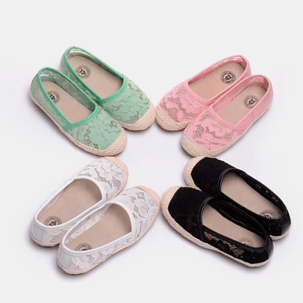 fashion lace princess flats shoes 2015 summer casual children sneakers girls sneakers soft sole kids shoes girls shoes