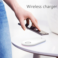 10W QI Fast Wireless Charger 3 in 1 For iphone 8 Plus X Xr XS Max For AirPods Universal Phone Chargers For Samsung S7 S8 S9