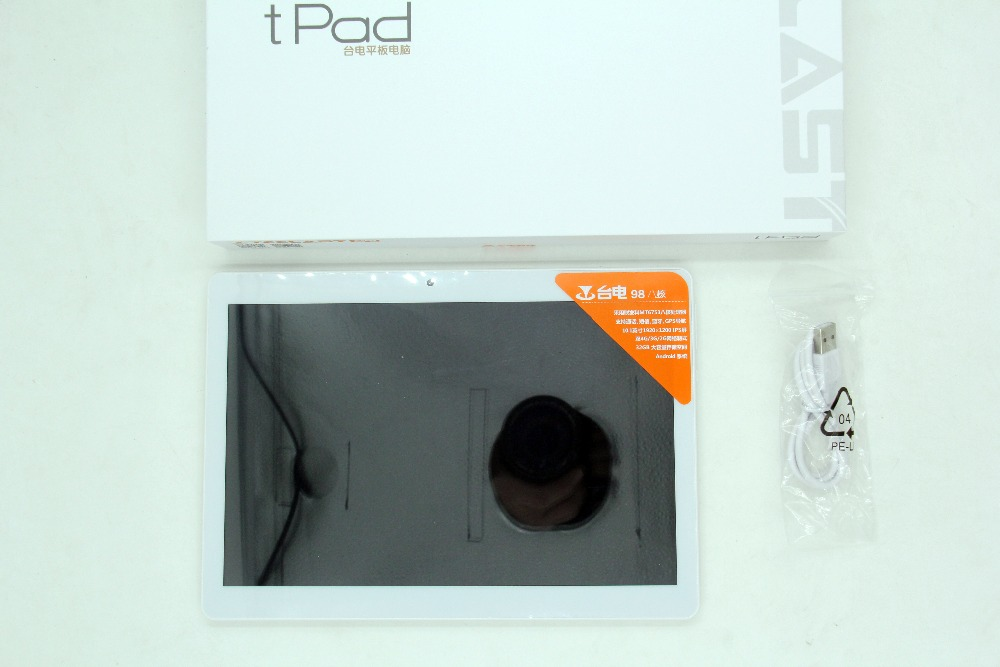 NUOVO TECLAST 98 Octa core tablet MT6753 2 GB ram 32 GB rom 10.1 pollice 1920*1200 IPS LTE WCDMA GSM WiFi Dual-SIM GPS