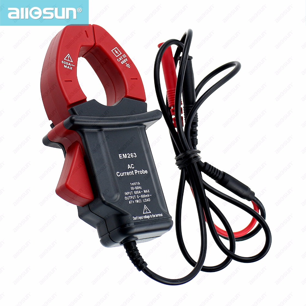 all-sun EM263 Compact Current Probe Clamp With Multimeter Digital Clamp Meter Frequency Volt Output Electrical Instruments