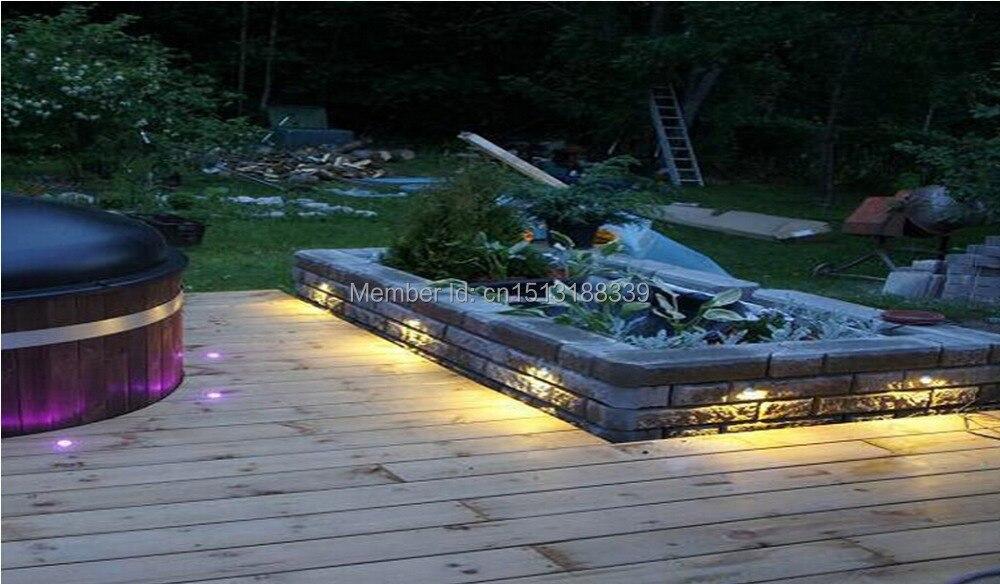 Half moon cover mini led wandlampen led trappen decoratie licht