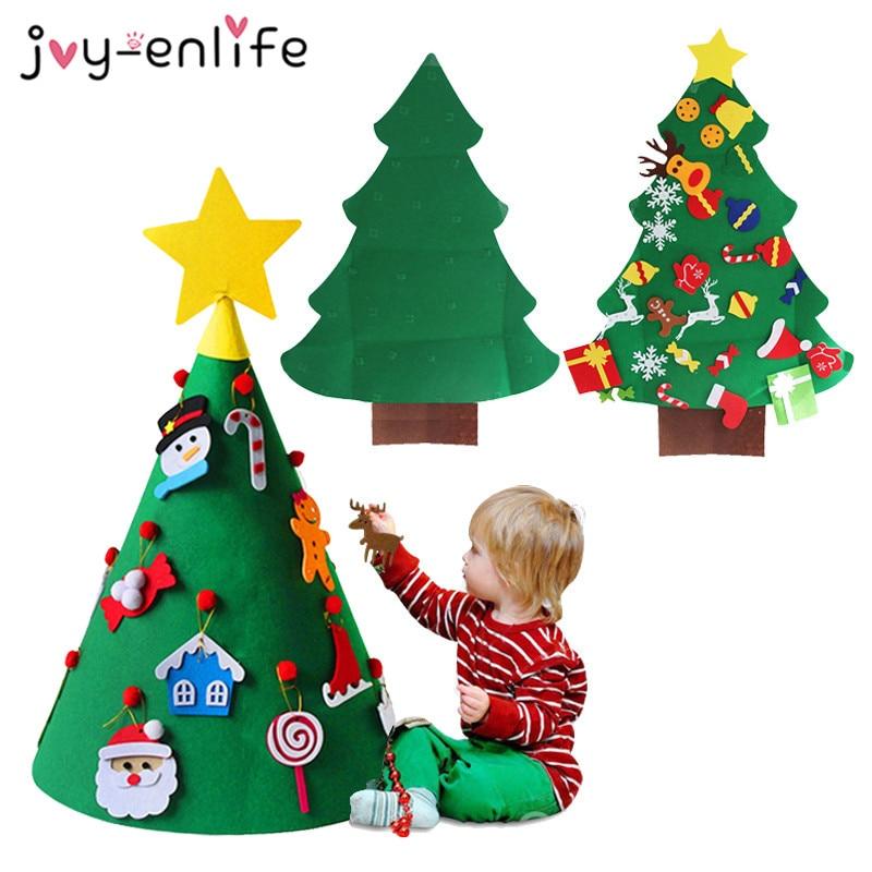 Joy Enlife 3d Felt Christmas Tree Artificial Tree 2019 New