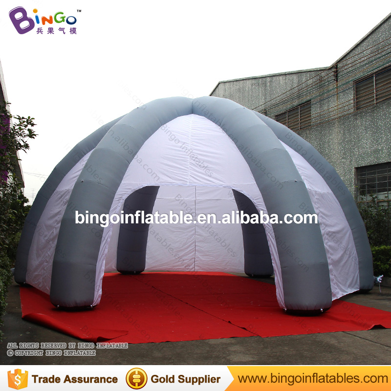 8mts Inflatable dome spider tent with removable doors & walls toy tent metsan mts 479