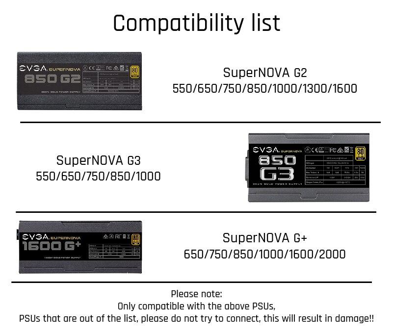 EVGA兼容表