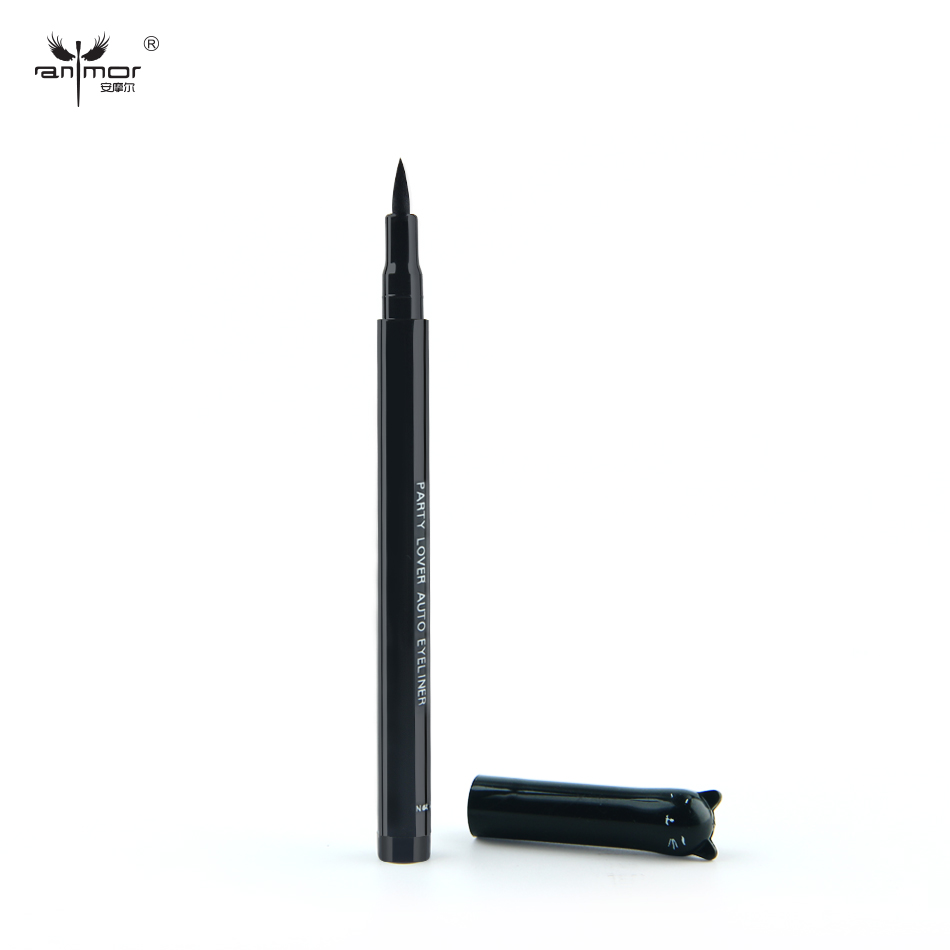 1PC Liquid Eyeliner Black Color Pencil Shape Eye Liner Makeup Cosmetic