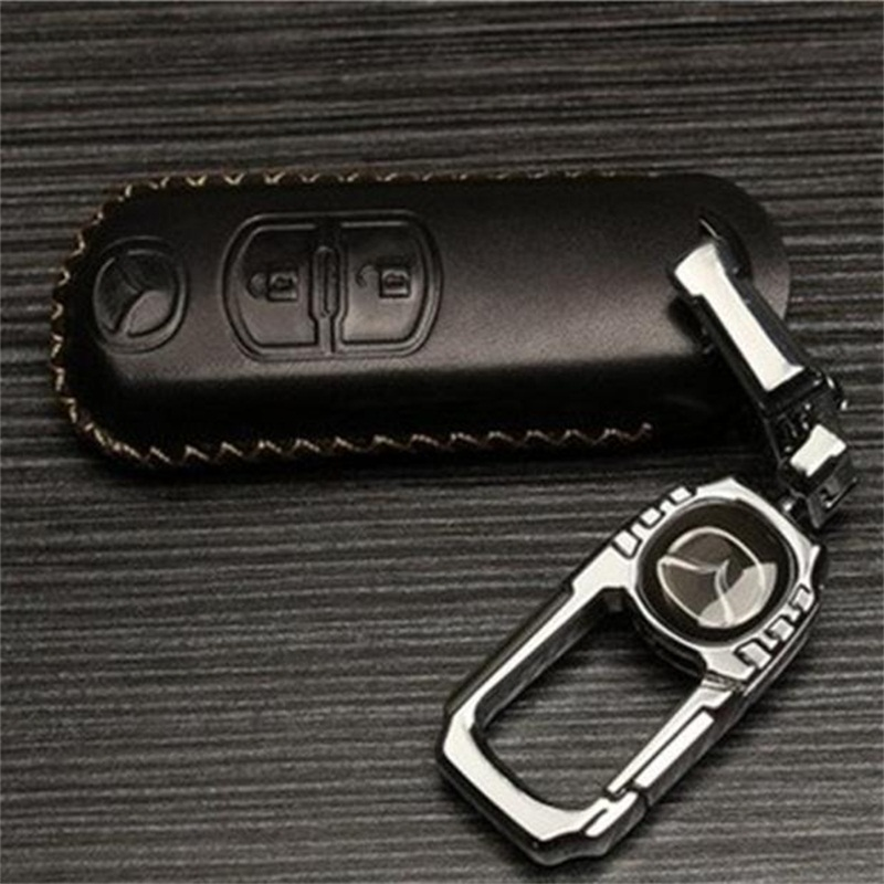 Car Key Cover Holder Case font b Keychain b font For Mazda 3 MAZDA 6 2