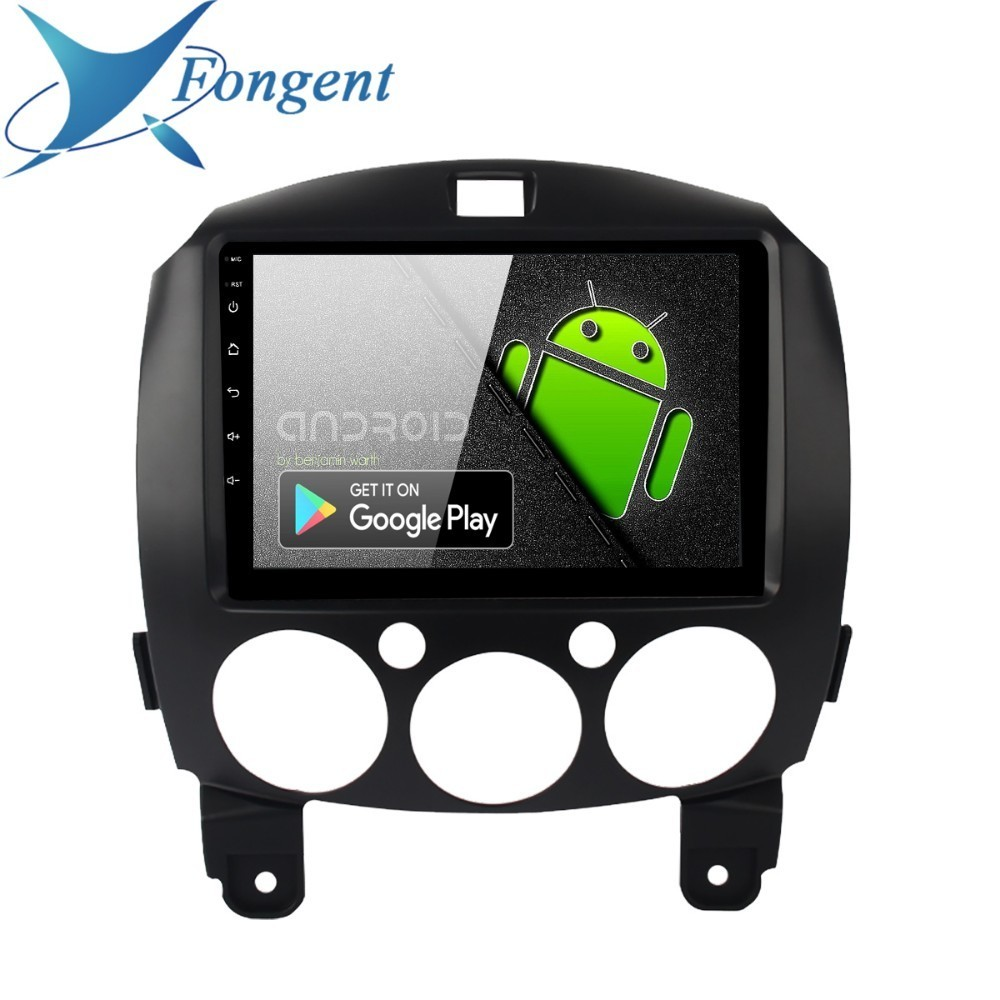 Fongent <font><b>1</b></font> <font><b>din</b></font> Car <font><b>Android</b></font> 9.0 for MAZDA <font><b>2</b></font> Radio 2010 2011 2012 2013 GPS Navigation <font><b>8</b></font>
