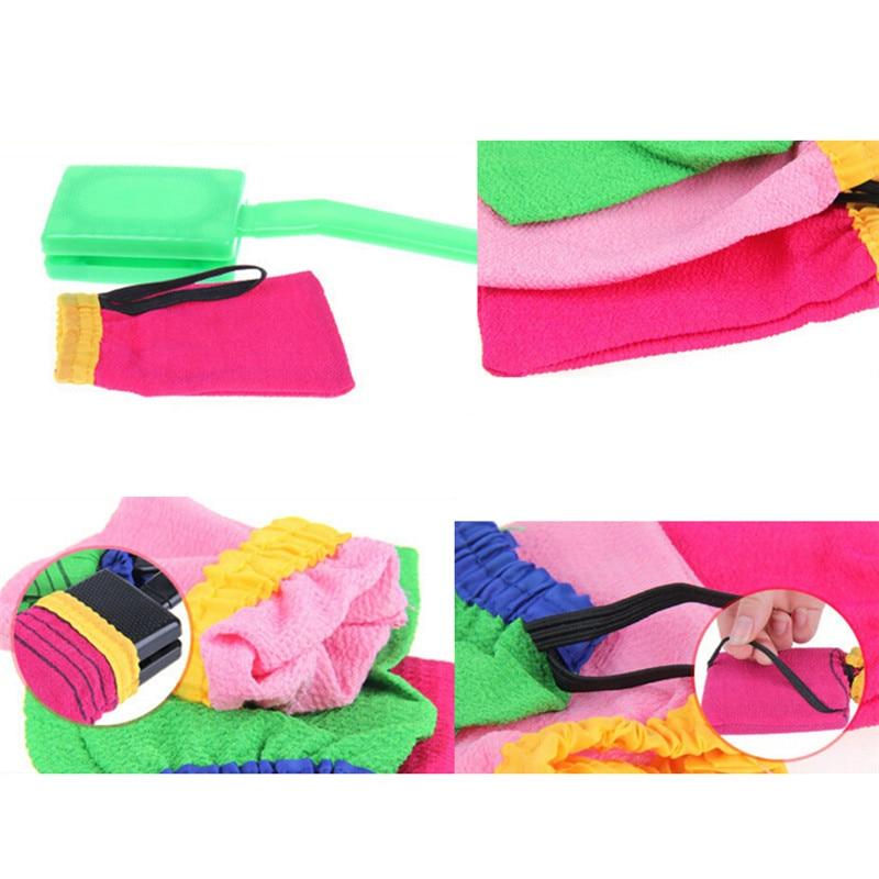 1PC Korea Hammam Scrub Mitt Magic Peeling Glove Exfoliating Tan Removal  Mitt Random Color