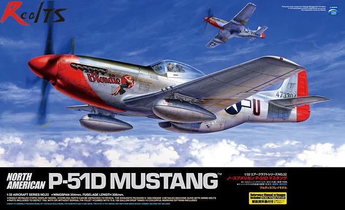 RealTS TAMIYA MODEL 1/32 SCALE military models #60322 North American P-51D Mustang cymodel mustang p 51d 46 cy8011a