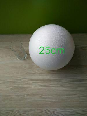 Polystyrene Styrofoam White Foam Ball Party Wedding Decoration Ball Kids DIY Handmade Crafts Balls 25cm(diameter) 1 Piece
