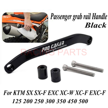 Grab Handle Bar Rear Seat Pillion Passenger Grab Rail Handle Fit  125 250 300 350 450 500 EXC SX EXCF SXF 16-17 Motorcycle motorcycle grab handle bar rear seat pillion passenger grab rail handle for ktm 125 250 300 350 450 500 exc sx excf sxf 16 17