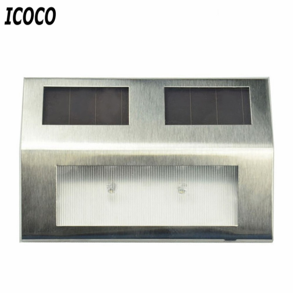 ⓪Icoco solar powered IP66 pared impermeable montaje noche camino ...