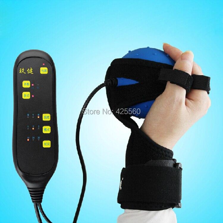 Hemiplegi Finger Recovery Utrustning Träning Elektrisk Hot Compress - Sjukvård - Foto 1