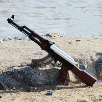 AK47 Electric Bursts Toy Gun Water Bullet Gun Children Boys Manual Rifle Pistol Outdoor Live CS Game Weapon Shoot Toys