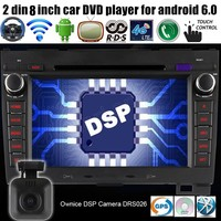 2 Din Android 6.0 Quad Core Car DVD Player GPS for G/reat W/all H aval H over H3 H5 2010 2013 2GB RAM 16GB Radio Stereo