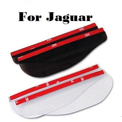 2017 2PCS For Jaguar F-Pace F-Type S-Type XE XF XFR XJ XJR XK XKR X-Type Auto rain eyebrow refires rearview mirror rain gear