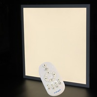 IPROLED 18W 300mm SMD2835 CCT color temperature2800k 6500k dimmable and brightness adjustable hanging led panel light
