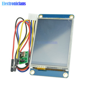 """Image 5 - 2.4"""" 2.4 Inch TFT 320 x 240 Resistive Touch Screen UART HMI LCD Module Display for Arduino Raspberry Pi TFT English Nextion"""
