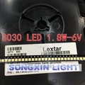 210pcs Lextar LED Backlight High Power LED 1.8W 3030 6V Cool white 150-187LM PT30W45 V1 TV Application