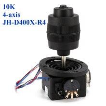 1 ADET Yeni Varış 4 Axis Plastik Joystick Potansiyometre JH D400X R4 10 K 4D Düğme ile Tel