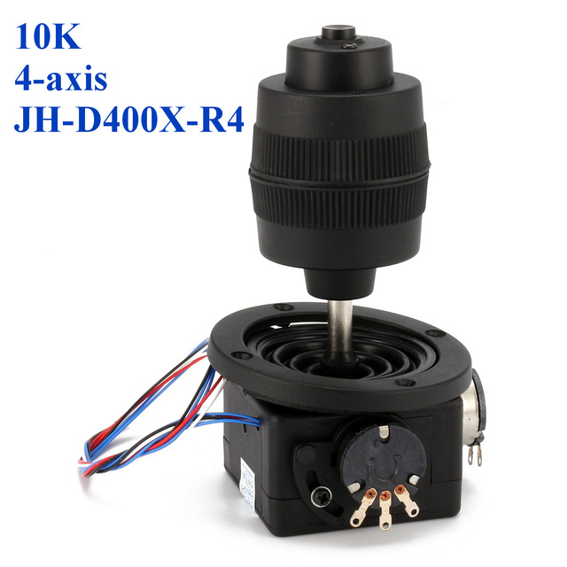 1PC New Arrival 4 osi z tworzywa sztucznego dla potencjometr joysticka dla JH D400X R4 10K 4D z przycisk drutu