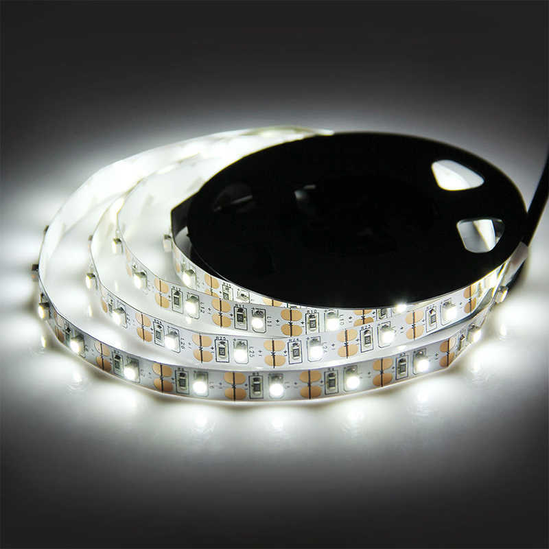 USB LED Lampu Strip TV 5 V/6 V 2835 SMD Fleksibel Lampu LED Tape Pita 1 M 2 M 3 M 4 M 5 M TV Desktop Latar Belakang Layar Bias Lampu