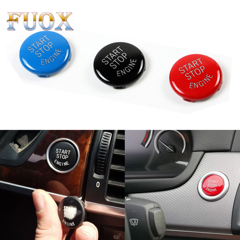 Car Engine Start Stop Switch Button Replace Cover for <font><b>BMW</b></font> 1 3 <font><b>5</b></font> Series E87 E90/E91/E92/E93 E60 X1 E84 X3 E83 X5 E70 X6 E71 Z4 image