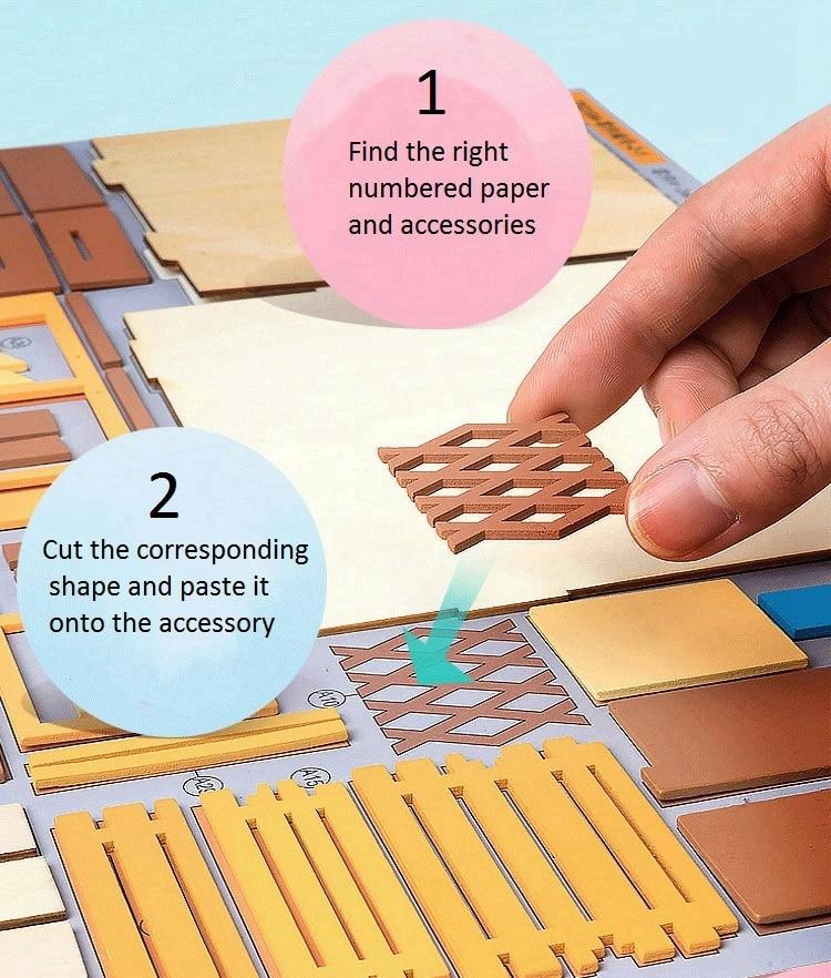 DIY 'Kevin's Studio' Miniature Doll House Model Building Kits 23