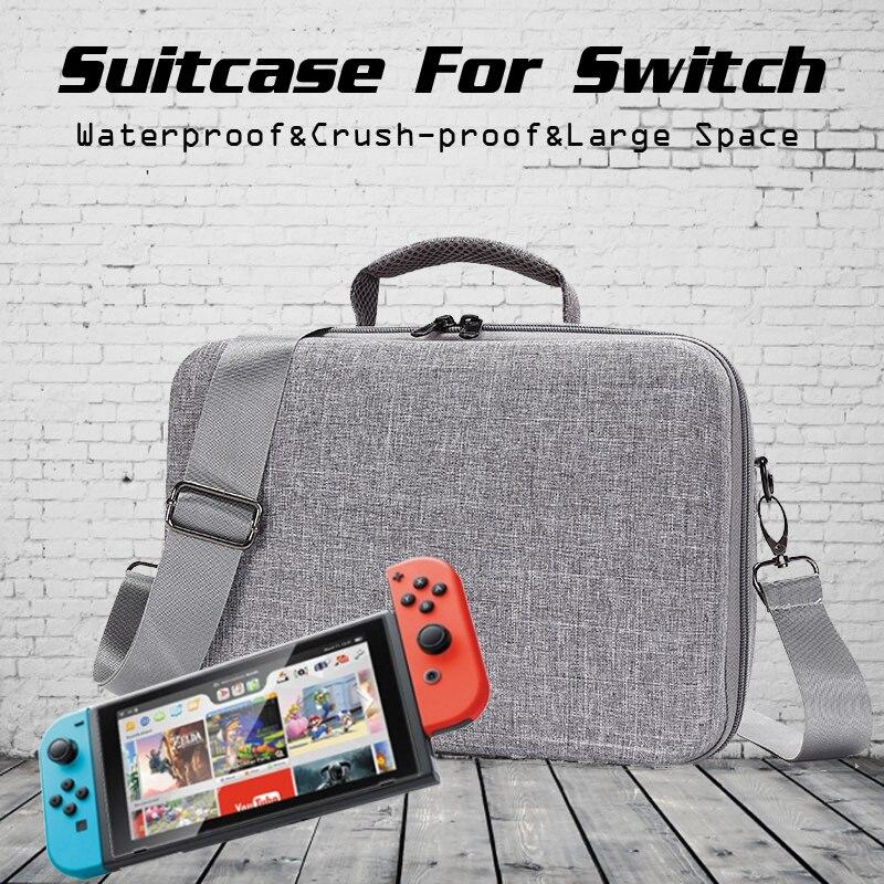 Jeebel Nintend Switch Bag Travel Outdoor Case Portable Hard Shell Protective Storage Host Gamepad Waterproof Nintend Switch Case nintend switch joy con