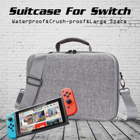 Jeebel Nintend Switch Bag Travel Outdoor Case Hard Shell Storage Host Gamepad Waterproof Protective Switch Portable Bag
