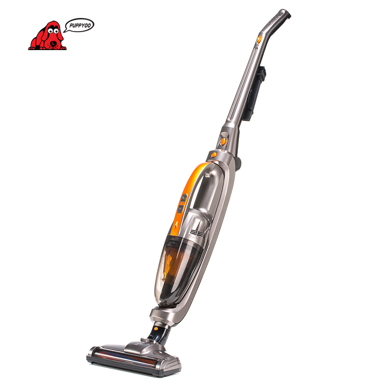 PUPPYOO Cordless Handheld Stick Vacuum Cleaner for Home Wireless Lithium Charging WP510