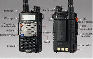 Image 3 - Uzun menzilli Walkie Talkie Uhf Vhf Pofung UV 5RA, yükseltilmiş BAOFENG UV5R CB radyo istasyonu radyo tarayıcı polis iki yönlü radyo