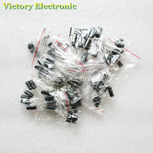 Image 3 - 120 ชิ้น/ล็อต 12 ค่า 0.22 UF   470 UF อลูมิเนียม electrolytic capacitor assortment kit ชุดแพ็ค