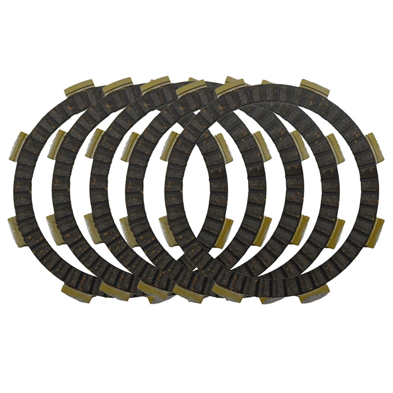 Motorcycle Clutch Friction Plates Set for HONDA CB125S CB125 S 1976-1982 1984-1985 Clutch Lining #CP-00012