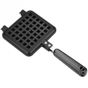 Image 3 - DIY Heart Shape Non stick Waffle Baking Mold Waffle Mould use for fuel gas stove kitchen Cake Baking Dish for Octopus balls roll