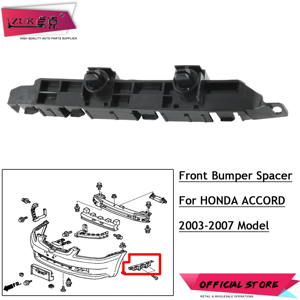 New Set of 2 Front LH /& RH Side Bumper Bracket Retainer For Honda Fit 2007-2008