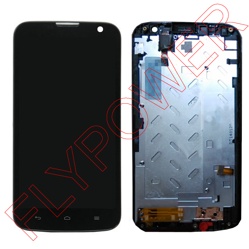 ФОТО 100% Warranty LCD display screen with Touch screen digitizer + Frame for Huawei G730 3G version by free shipping