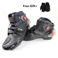 Newest RidingTribe Motorcycle riding shoes, short boots, anti fall racing shoes, spring summer racing boots Collision avoidance