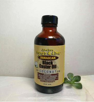 Jamaican Mango and Lime Black Castor Oil - Coconut 4ozJamaican Mango and Lime Black Castor Oil - Coconut 4oz