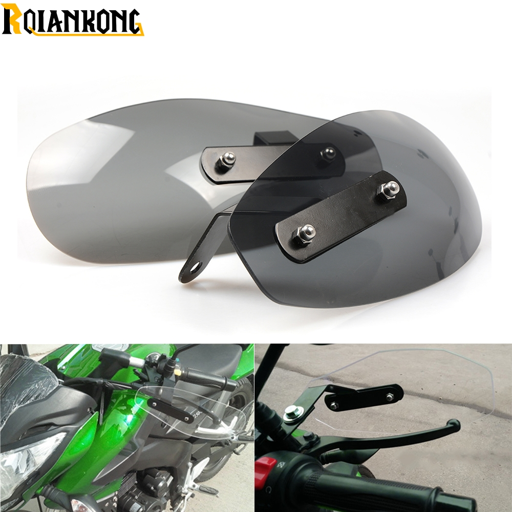 Motorcycle Accessories wind shield handle Brake lever hand guard for Kawasaki Ninja ZX6 ZX6R ZX7R ZX9R ZX12R ZX14R ZX500R in Covers Ornamental Mouldings from Automobiles Motorcycles