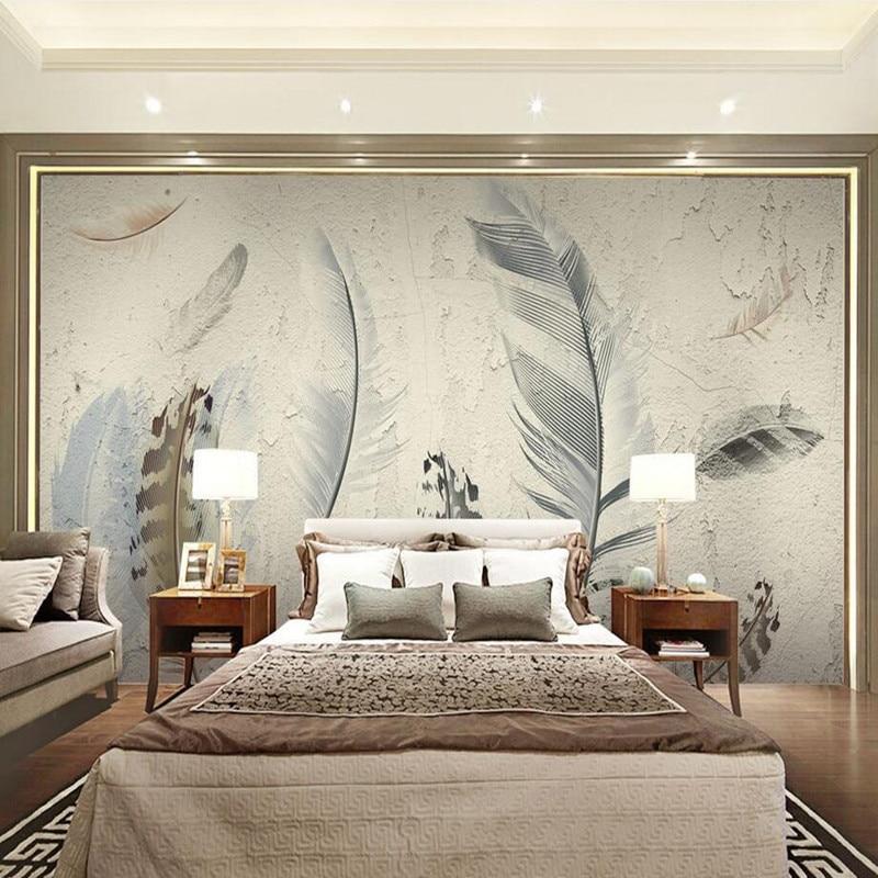 Custom Wall Murals Wallpaper 3D Modern Pastoral Style 3D ...