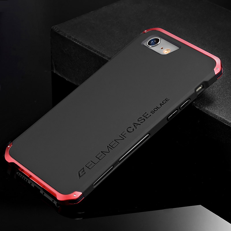 Luxury Shockproof Armor Element Metal Case For iPhone 6s 6 Plus Cases Hard Coque Aluminium PC